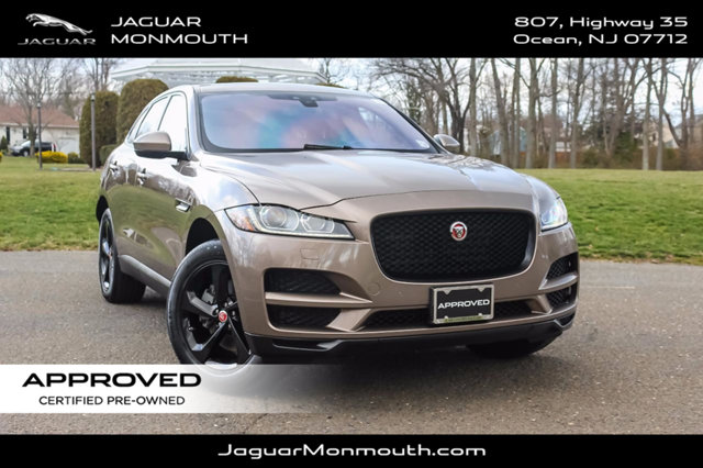 certified pre owned 2017 jaguar f pace 35t premium awd suv in ocean a069269s land rover monmouth. Black Bedroom Furniture Sets. Home Design Ideas
